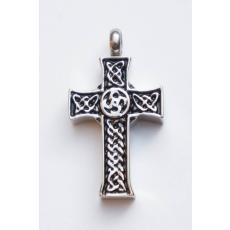 Danzetta Asche Schmuck Anhänger Keltisches Kreuz 7964